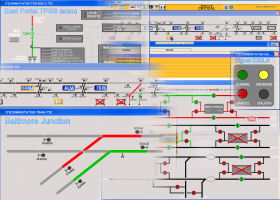 Portfolio Screen Shots - Rail Control Collage