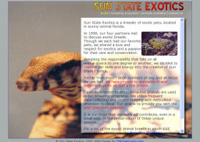 Portfolio Screen Shots - Sun State Exotics